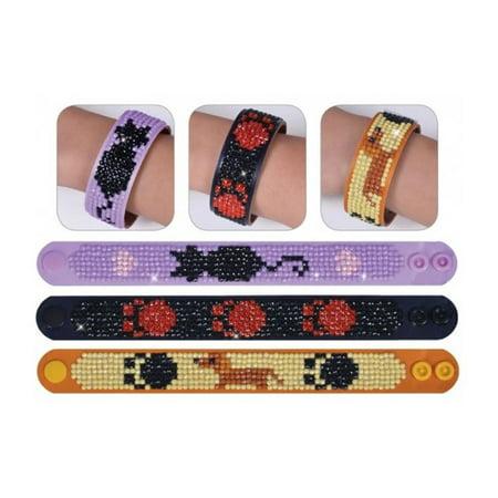 Diamond Dotz Kit Sparkle Bracelets Pets 3pc
