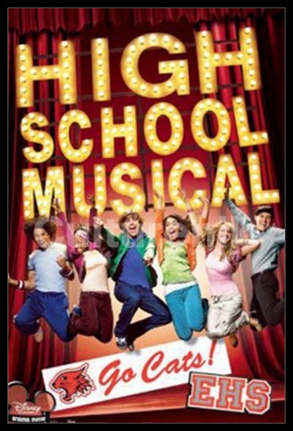 Disney High School Musical Poster Poster Print by Rolled Poster