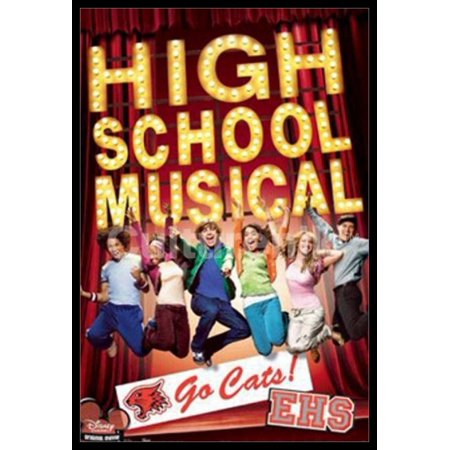 Disney High School Musical Poster Poster Print