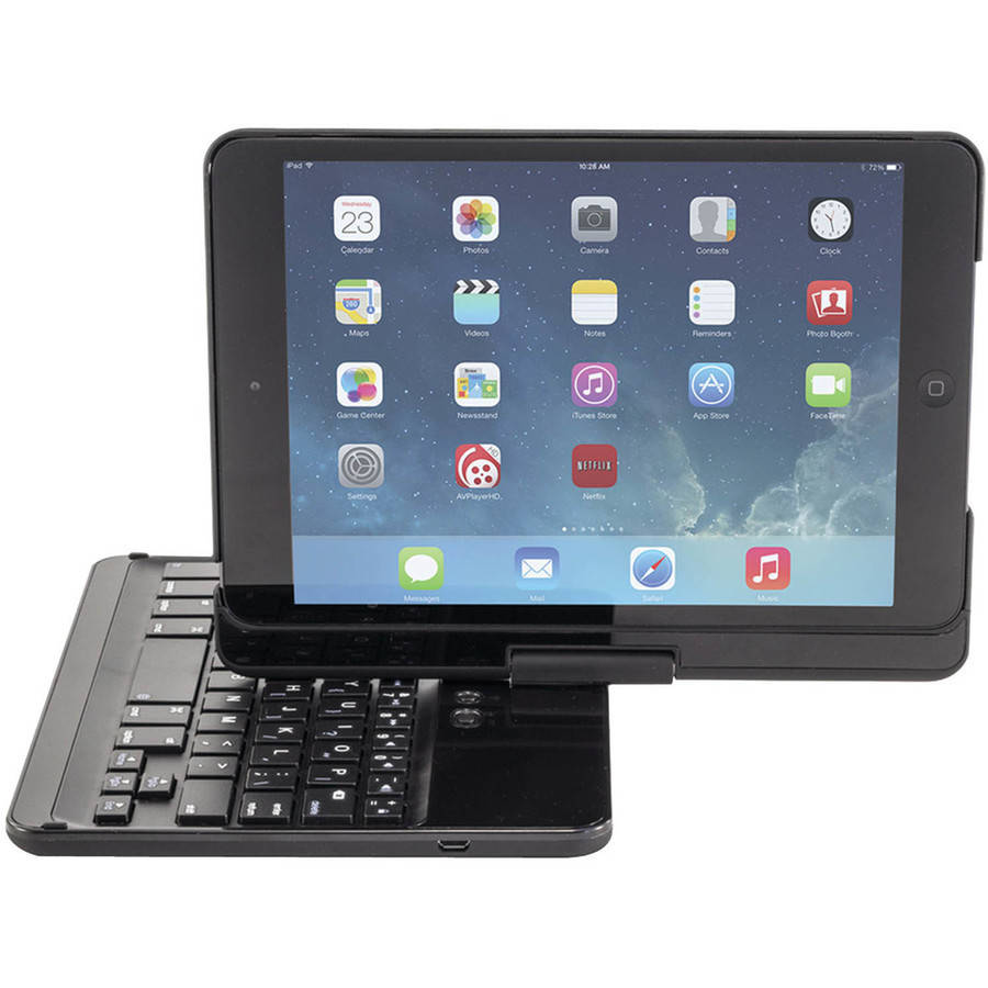 Devicewear KSS-IPMR-BLK Apple iPad mini KeepSAFE Strap Case, Black