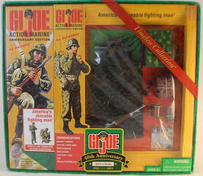 GI Joe Timeless Collection Action Marine Anniversary Edition Used by Kenner