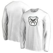 Butler Bulldogs Big & Tall Primary Logo Long Sleeve T-Shirt - White