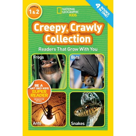 National Geographic Readers: Creepy Crawly - Creepy Children Halloween Music