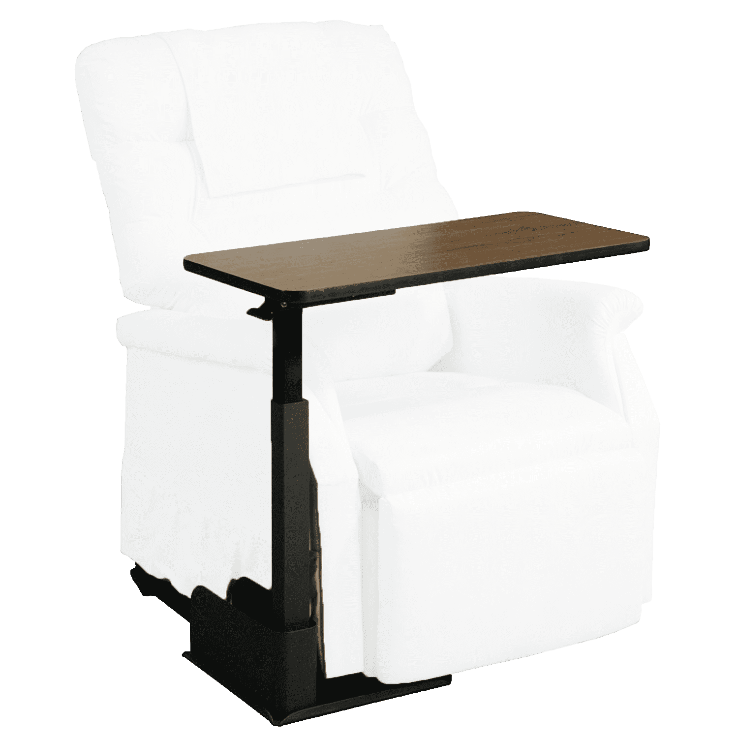 Picture of: Healthline Recliner Left Side Table Seat Lift Chair Left Side Overbed Table Walmart Com Walmart Com