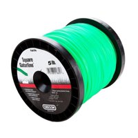 Oregon 21-095 Gatorline 5-Pound Spool of .095-Inch-by-1145-Foot Square-Shaped String Trimmer Line