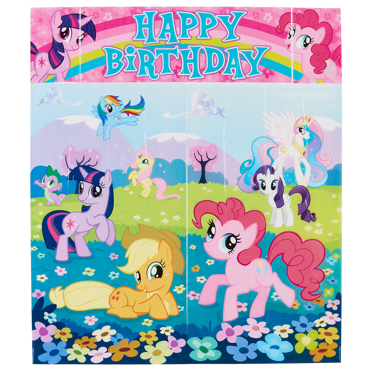 My Little Pony Birthday Party Wall Decorating Kit, 5pc