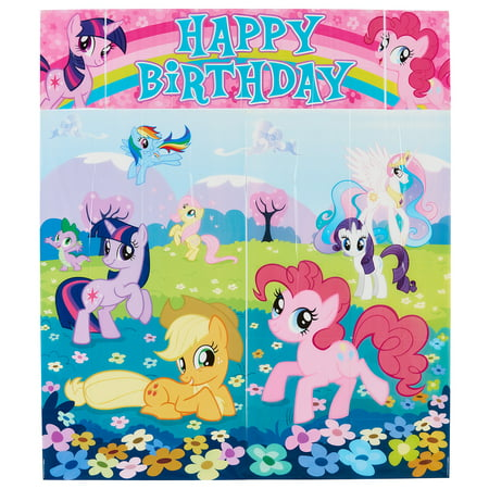 My Little Pony Birthday Party Wall Decorating Kit 5pc Walmartcom