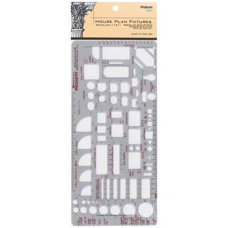 - Pickett House Plan Fixtures Template