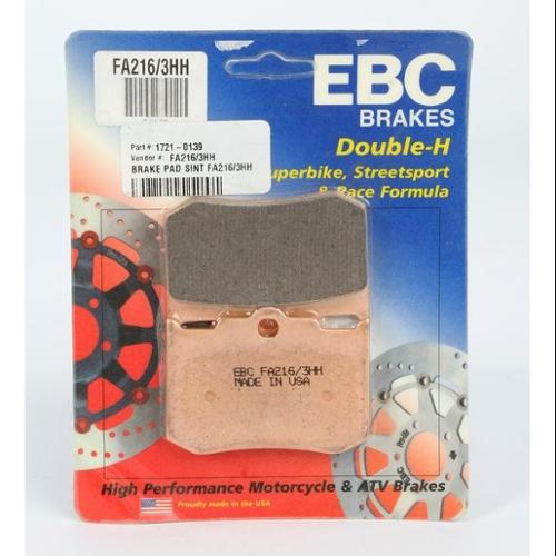 EBC Double-H Sintered Brake Pads Rear Fits 03-04 Indian Scout