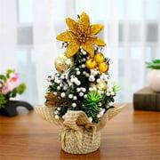 Mini Christmas Decoration Tree Festival Desktop Decoration Small Tree 20cm