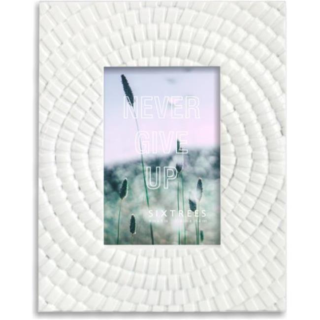 Sixtrees 263246 4 x 6 in. Atlas White Frame