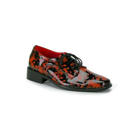 6523e51b5254 Pleaser - Adult Male Black Bloody Shoe Pleaser USA BLOODY-06 - Walmart.com