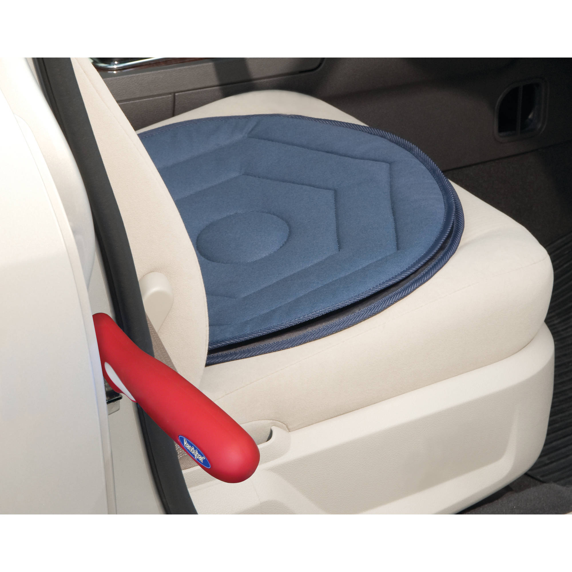 Automobility Solution- 2 in1 HandyBar & Swivel Seat Cushion Combo