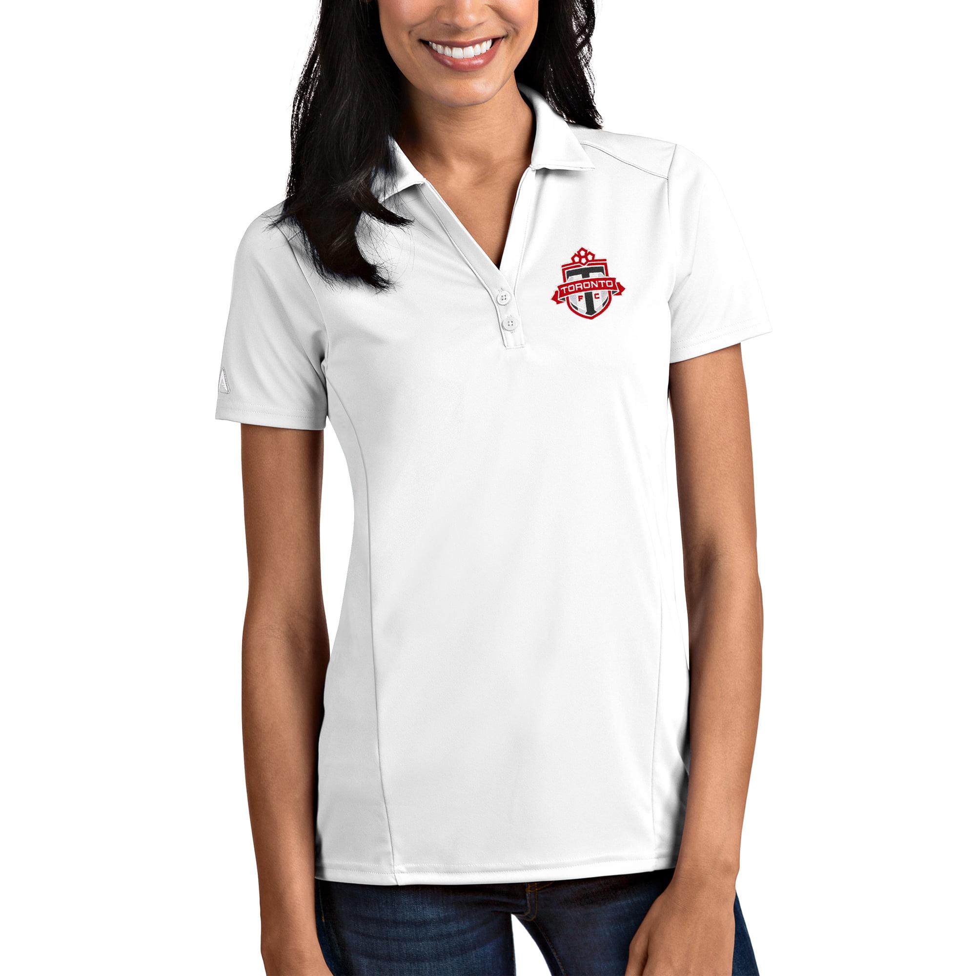 Toronto FC Antigua Women's White Tribute Polo
