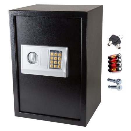 Zimtown Large Digital Electronic Safe Box Keypad Lock Security Home Office  Hotel Gun Secure