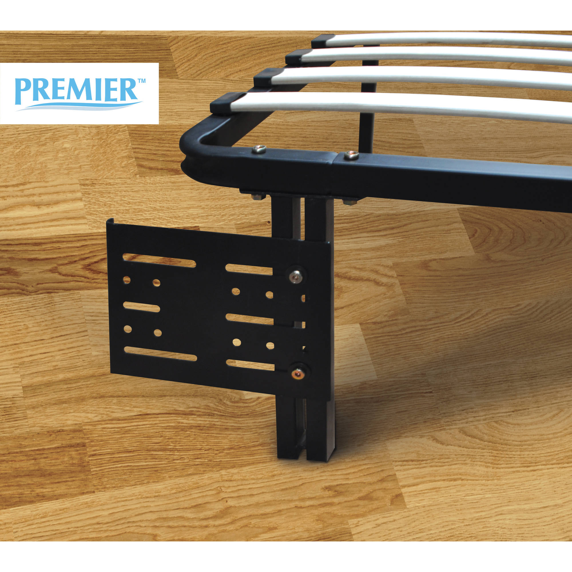 Premier Flex Headboard/Footboard Brackets, Black