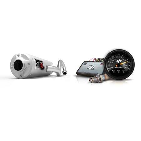 AFR+ Fuel Controller & Stainless-Steel Titan-XL-Series Full System Exhaust  Billet for Kawasaki Teryx 2009-2013