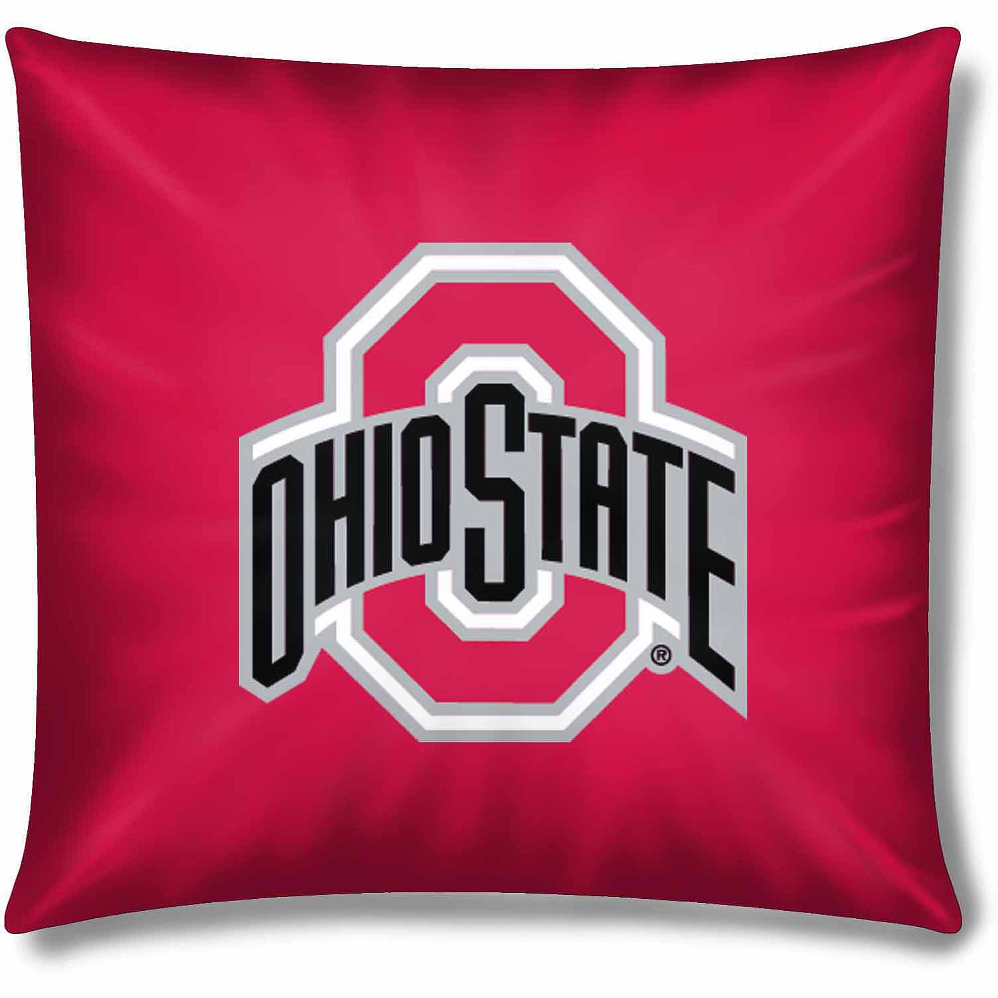 "NCAA Ohio State Buckeyes Official 15"" Toss Pillow"