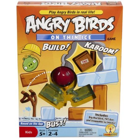 Angry Birds on Thin Ice Game (Games Online Angry Birds Halloween)