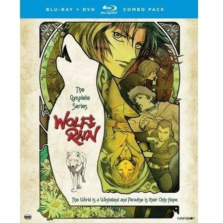 Wolfs Rain  The Complete Series  Blu Ray   Dvd   Widescreen