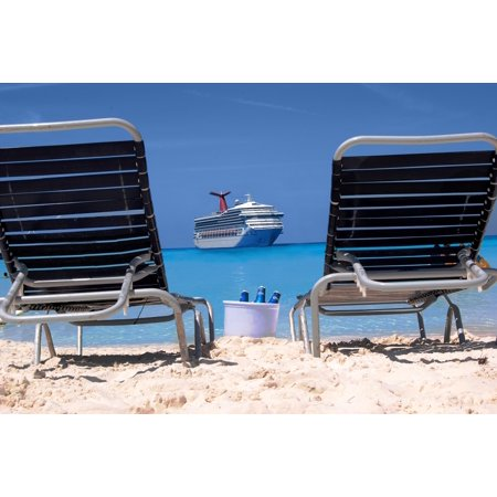 Laminated Poster Carnival Cruise Holidays Cruise Half Moon Cay Cruise Poster Print 24 X 36