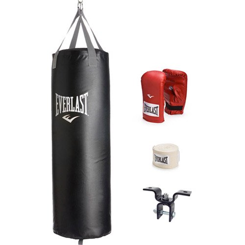 3c7de3c73ad Everlast 70-lb Nevatear Heavy Bag Kit