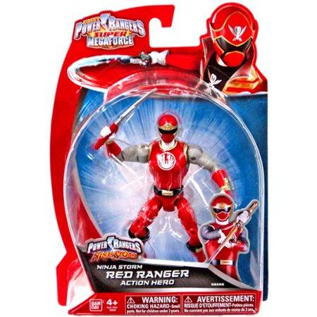 Power Rangers Super Megaforce Ninja Storm Red Ranger 5