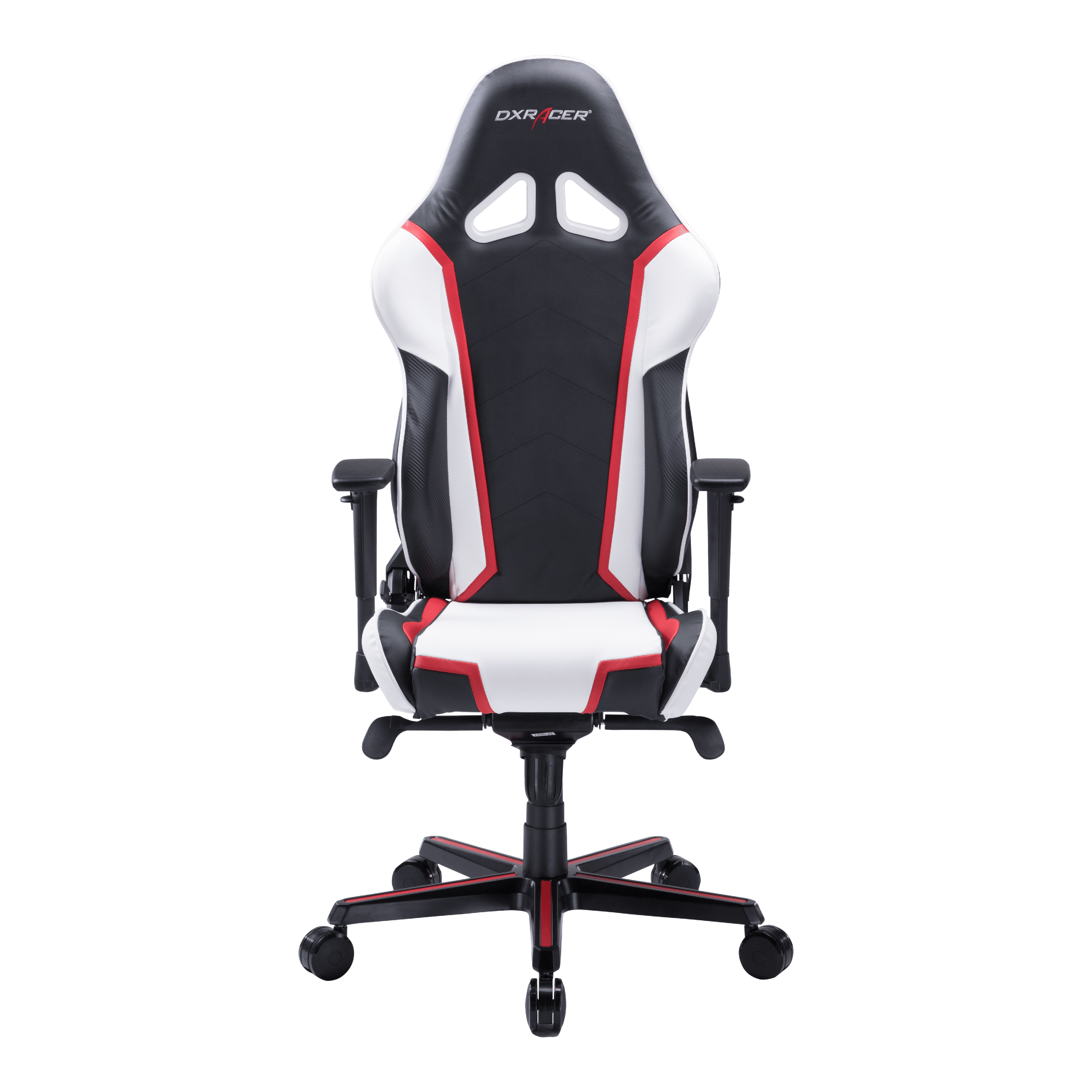 Dxracer Racing Series Black White And Red Oh Rh110 Nwr