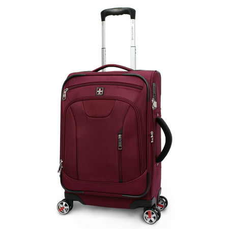 "SwissTech Executive 21"" Carry-on Luggage,Red"