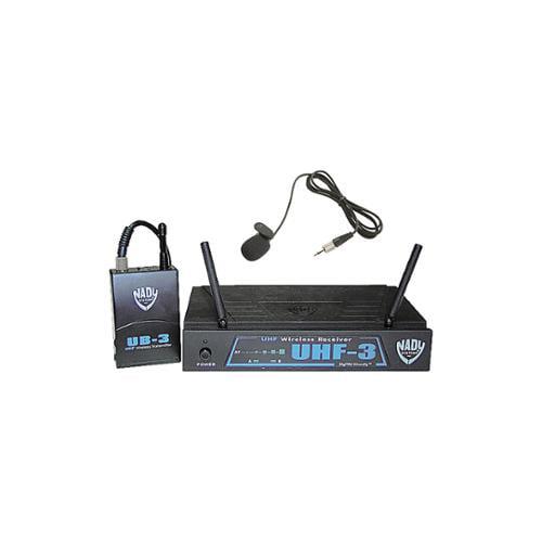 NADY UHF-3 LT SYS (MU1/470.55) Wireless Lavalier System
