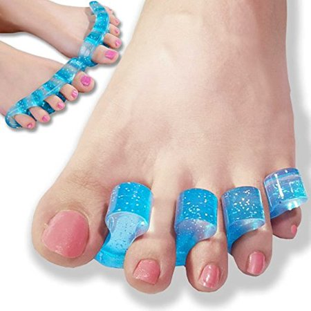 Seperator Kit (Beaut (TM) Toe Stretchers - Toe Separators and Toe Spreaders Kit Provides Bunion Relief, Relieves Plantar Fasciitis, Hammertoes, Claw Toes, Bunionettes and Overlapping Toes - For Men and Women )
