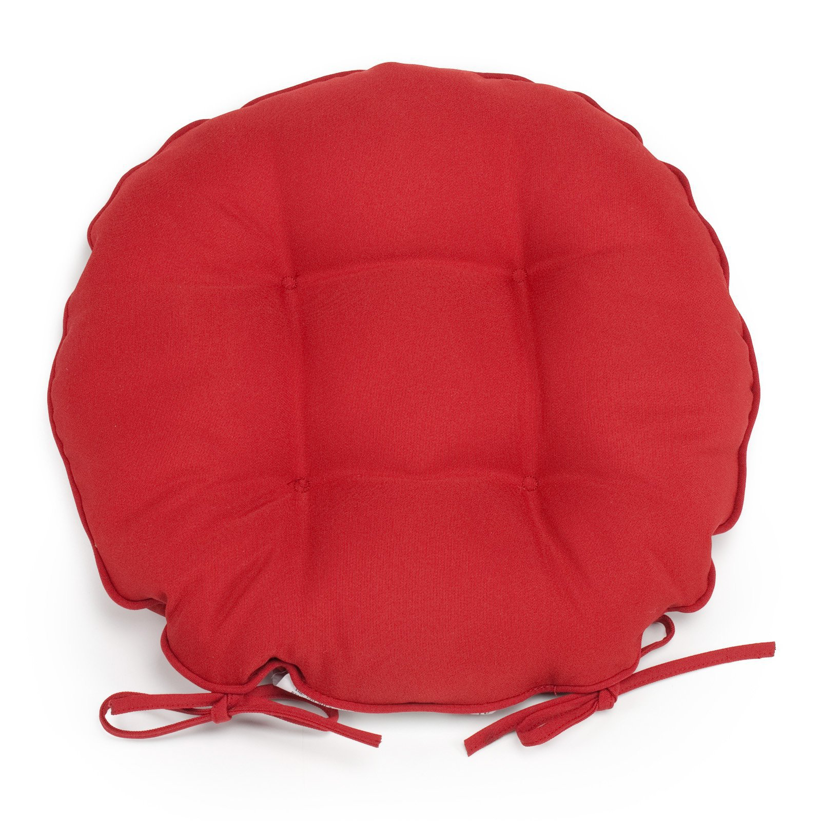 Coral Coast Classic 16 in. Round Bistro Outdoor Seat Cushion - Set of 2
