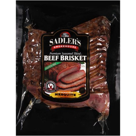 Walmart Credit Card Review >> Sadler's Smokehouse Sliced Mesquite Beef Brisket, 18 oz ...