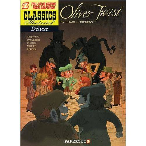 Classics Illustrated Deluxe 8: Oliver Twist