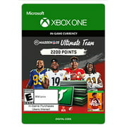 MADDEN NFL 20 ULTIMATE TEAM™ 2200 MADDEN POINTS, Electronic Arts, Xbox, [Digital Download]
