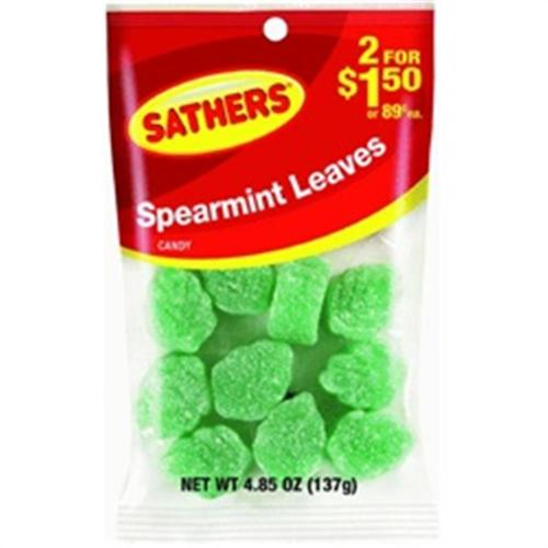Sathers Spearmint Leaves 12 pack (4.85oz per pack) (Pack of 3)