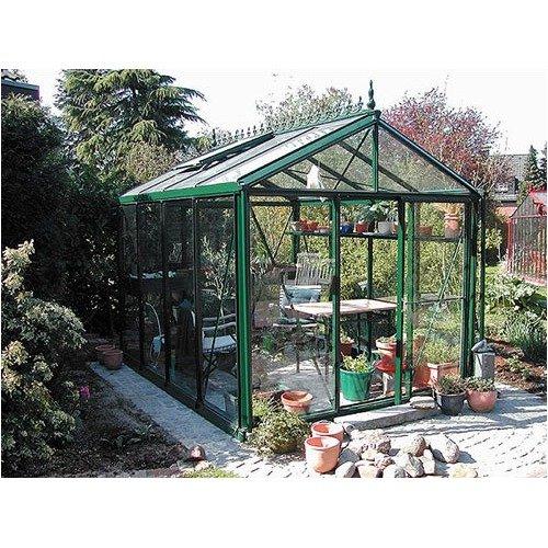 Janssens of Belgium Royal Victorian 8' x 10'  Glass Greenhouse