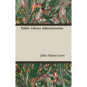 Public Library Administration