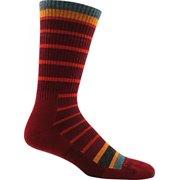 Darn Tough Vermont Via Feratta Cushion Boot Sock - Men's Burgundy X-Large