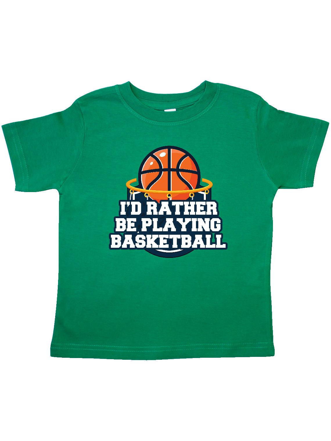 I'd Rather Be Playing Basketball Toddler T-Shirt