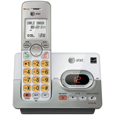 AT&T EL52103 DECT 6.0 Cordless Answering System With Caller ID & Call