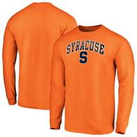 Syracuse Orange Fanatics Branded Campus Long Sleeve T-Shirt - Orange