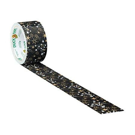 Metallic Gold Stars Duck brand Duct Tape 1.88