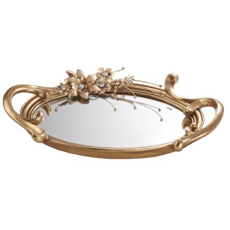 OK Lighting Athena Bronze Decorative Platter