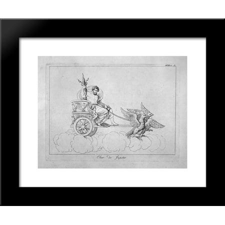 Chariot Of Jupiter 20X24 Framed Art Print By Piranesi  Giovanni Battista