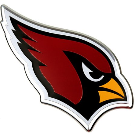 Arizona Cardinals Color Emblem 3 Car Team Decal - No Size Nfl Football Emblem