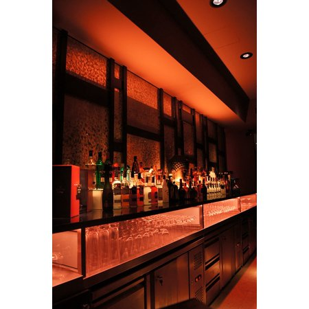 LAMINATED POSTER Cocktail Club Beverage Counter Bar Nightclub Poster Print 24 x 36