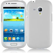 Hard Rubberized Case for Samsung Galaxy S3 Mini - White