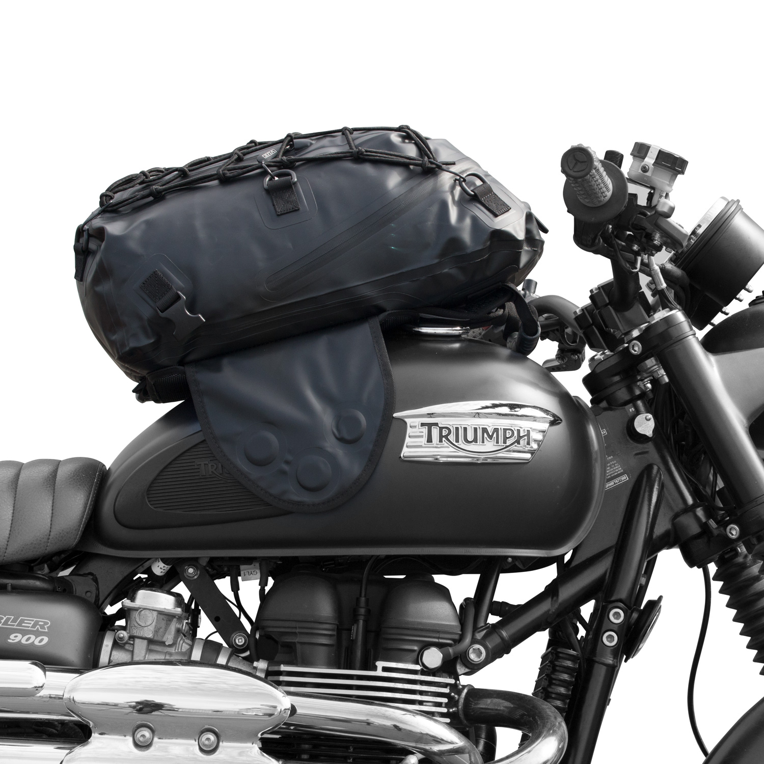 VUZ Moto 22L Dry Tank Bag Backpack | Waterproof Motorcycl...