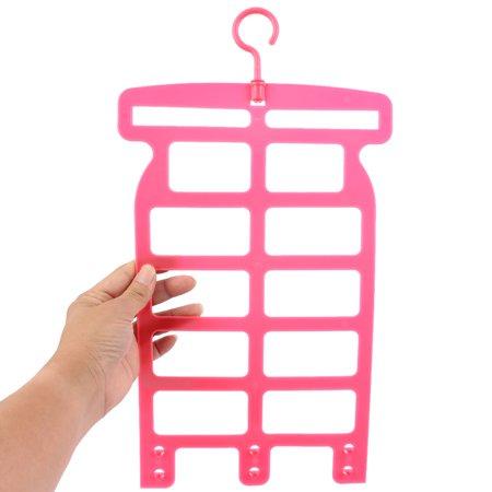Home Plastic Adjustable Assembled Pillow Doll Drying Hanger Hook Rack 2 Pcs - image 2 de 6